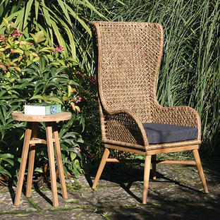 Madagascar High Back Chair