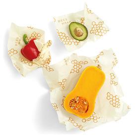 Bee's Wrap Sustainable Set of 3 Wraps