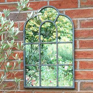 garden mirrors. Ornate Arch Outdoor Mirror Garden Mirrors