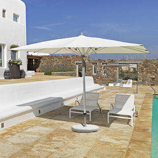 Fortero Easy Rectangular Centre Parasols