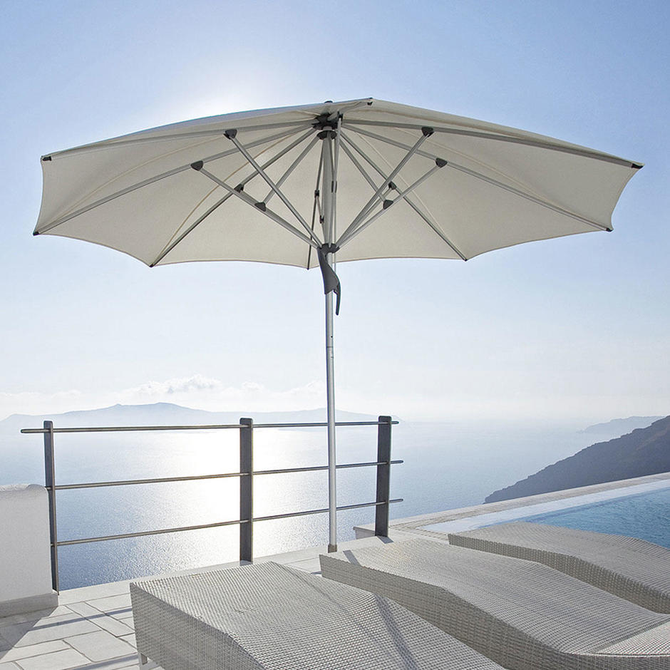 Fortino Easy Round Centre Pole Parasols