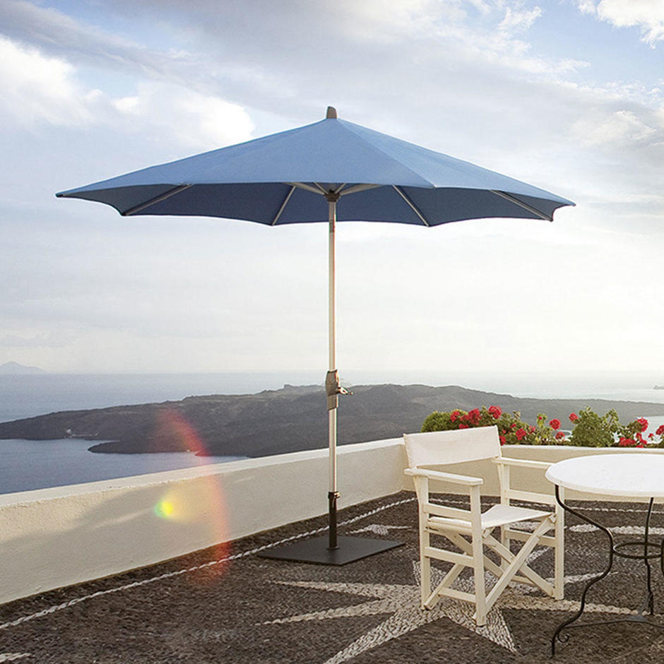 AluTwist Classic Bespoke Round Parasols