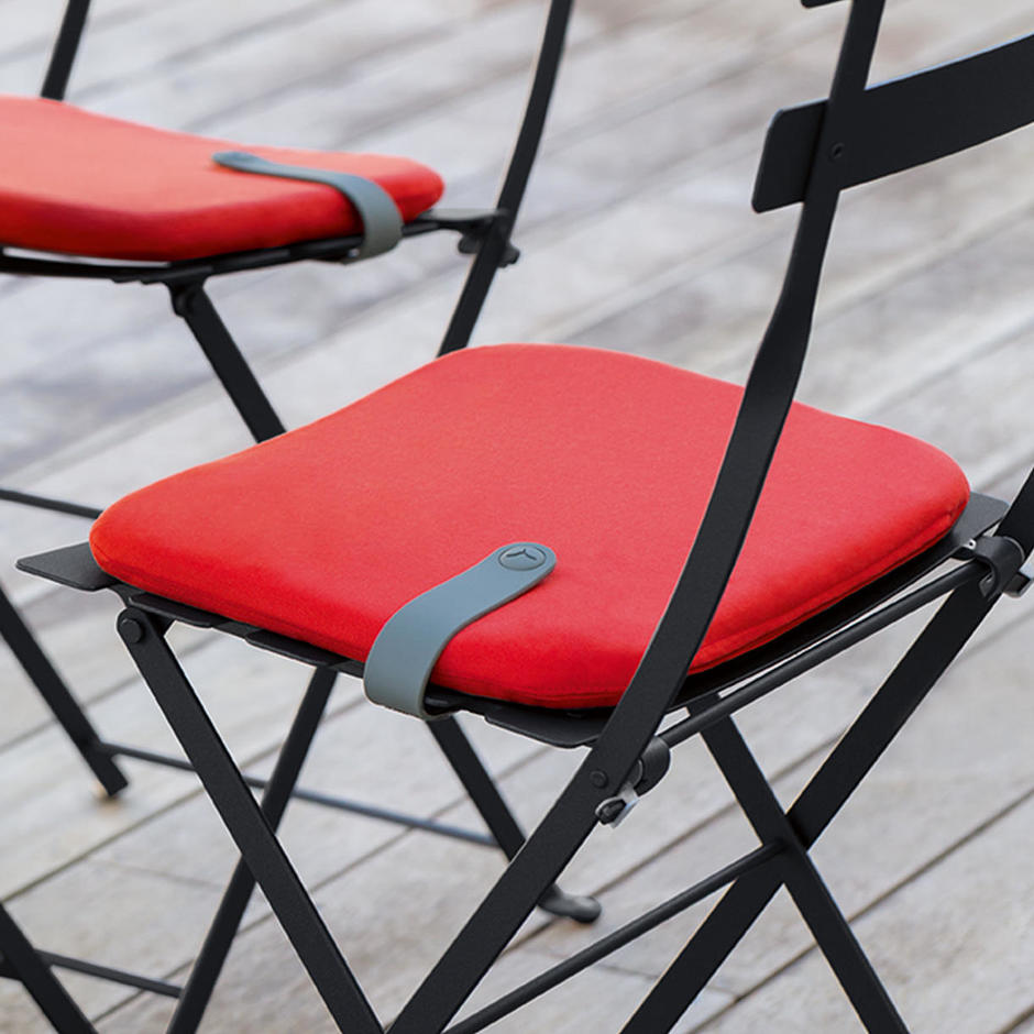 Colourful Outdoor Seat Cushions for Bistro Chairs
