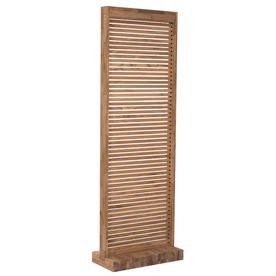 Trans Teak Outdoor Screen
