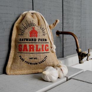 Jute Garlic Storage Bag