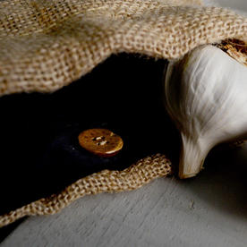 Jute Garlic Storage Bag