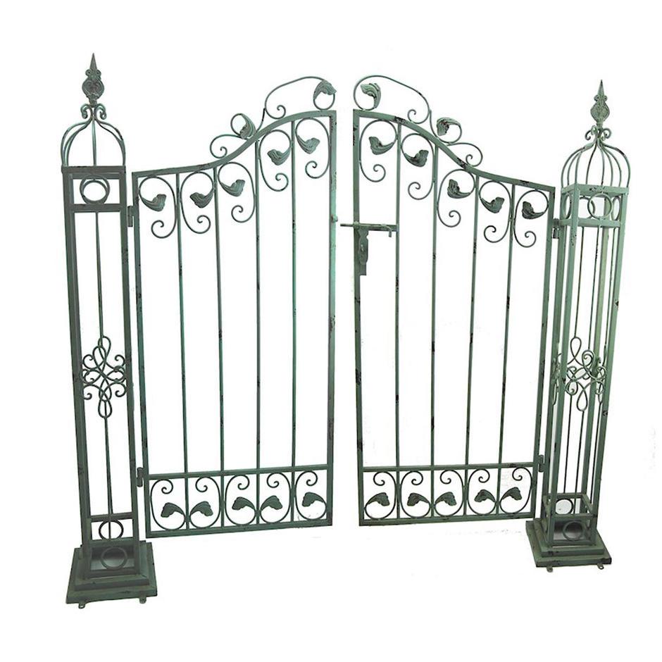 Provence Verdigris Metal Gates
