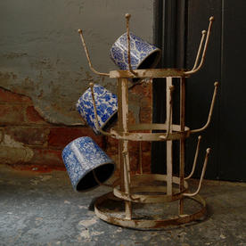 Vintage Styled Bottle Dryer Stand