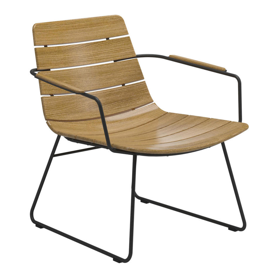 William Outdoor Lounge Chairs and Footrests