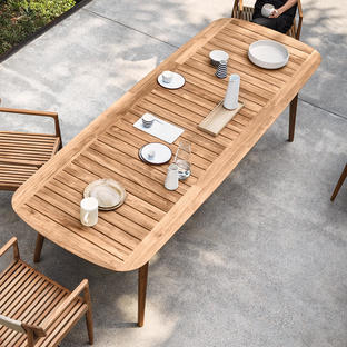Clipper Rectangular Outdoor Tables