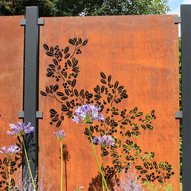 Weathering Steel Large Decorative Screens
