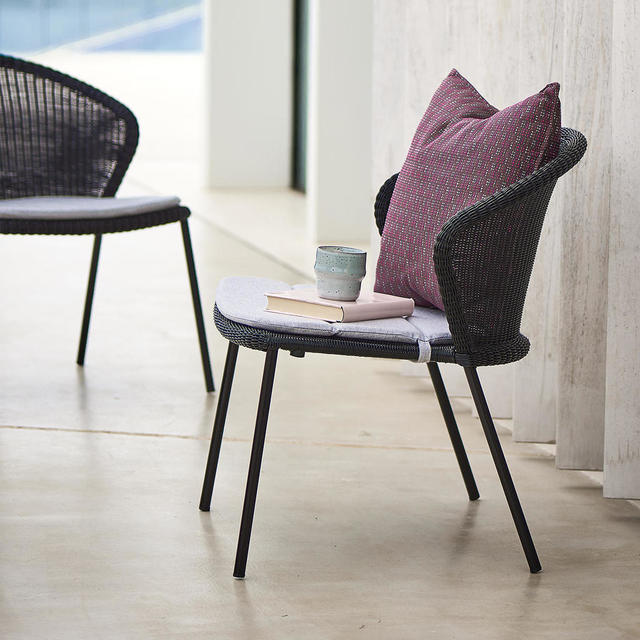 Buy Lean Lounge Chair By Cane Line The Worm That Turned