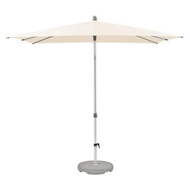 AluSmart Easy Square Centre Pole Parasols