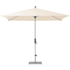 AluTwist Easy Rectangular Centre Pole Parasols