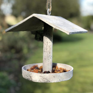 Concrete Bird Feeder