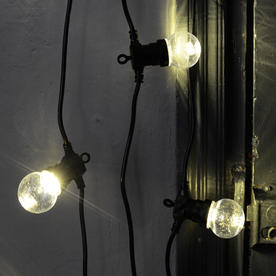 Outdoor Extendable Clear LED Festoon Lights