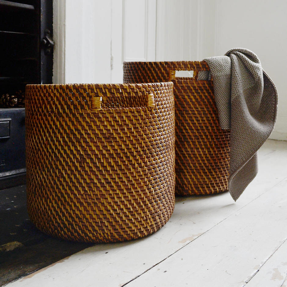 Woven Brown Baskets