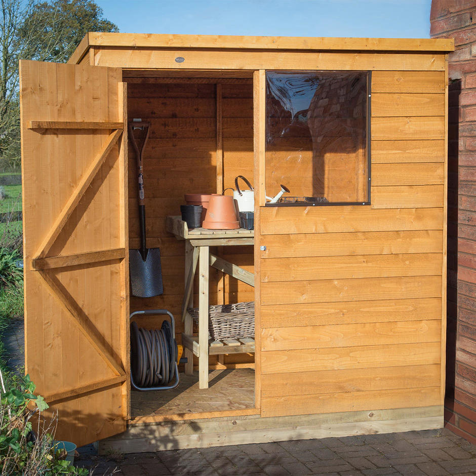Pent Roof Small Shed