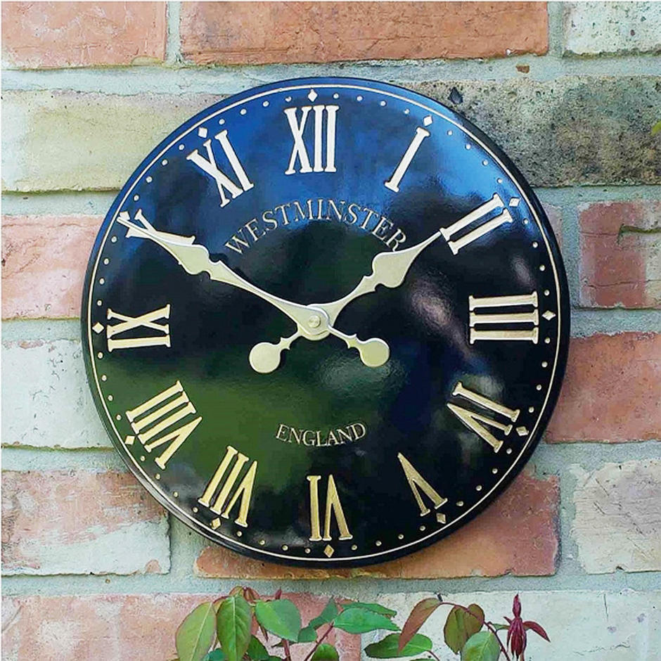 Outdoor Westminster Clock