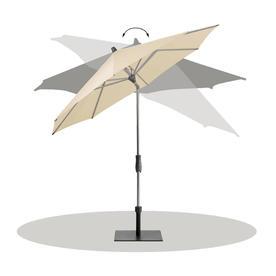 AluTwist Classic Bespoke Round Parasols