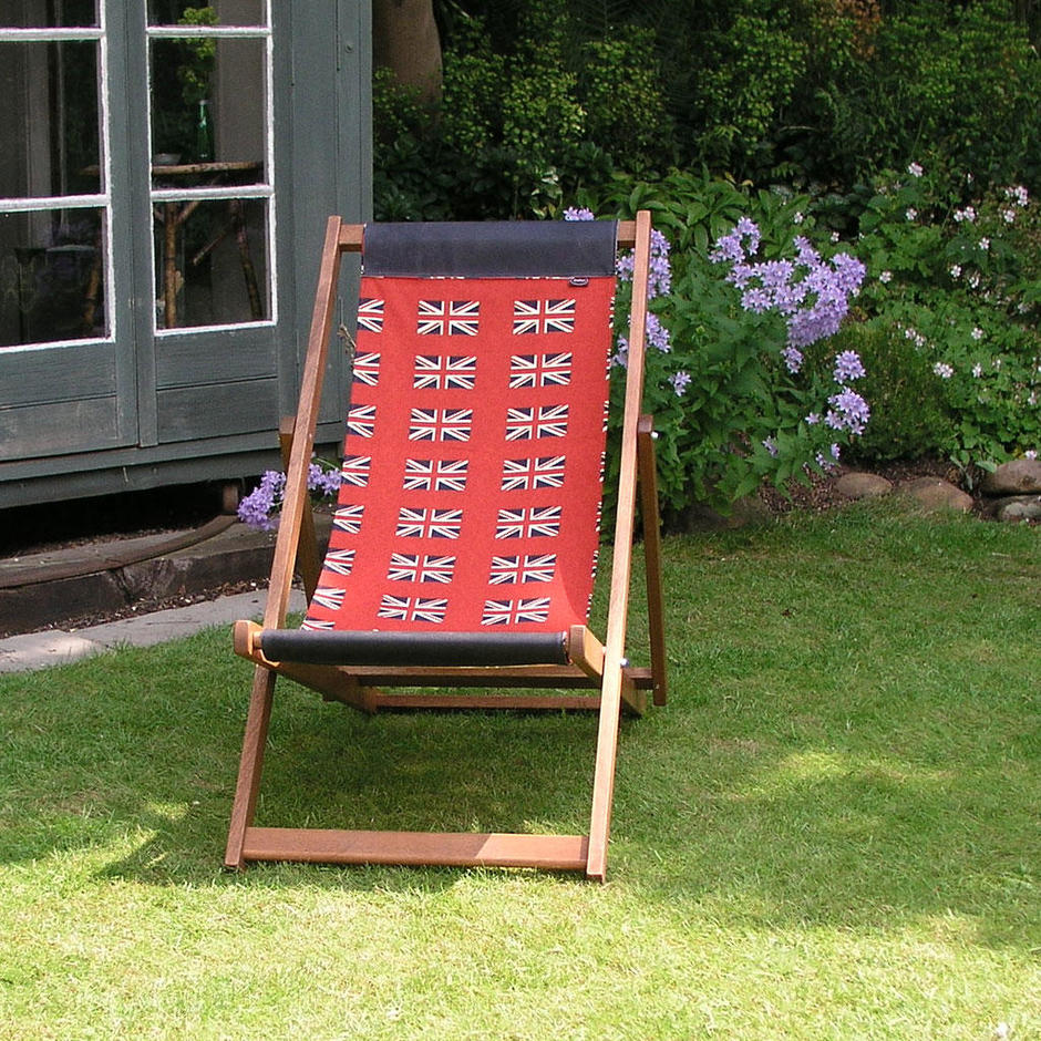 Rule Britannia Flag Deckchair