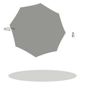 SunwingC+ Classic Bespoke Square Cantilever Parasol