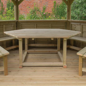 Bench Seats and Tables for Garden Gazebos