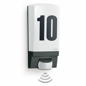 Motion Sensor Lit House Number