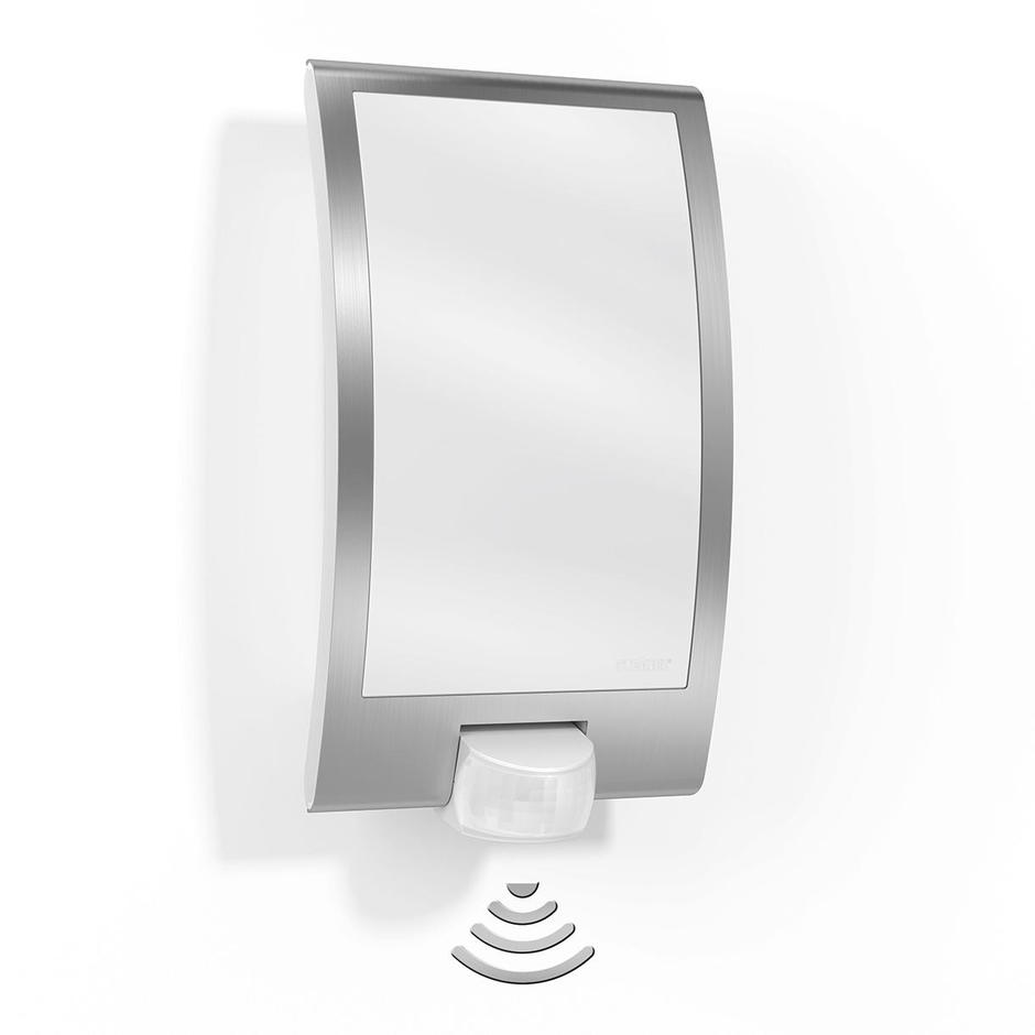 Motion Sensor Stainless Steel Edged Wall Light