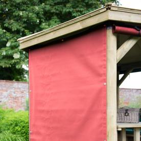 4.7m Hexagonal Garden Gazebo Soft Furnishings