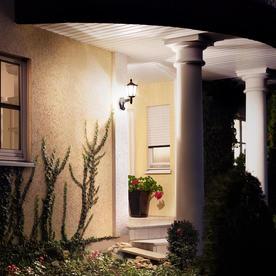 Outdoor Motion Sensor Traditional Lantern Lights