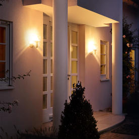Domed Outdoor Motion Sensor Lights