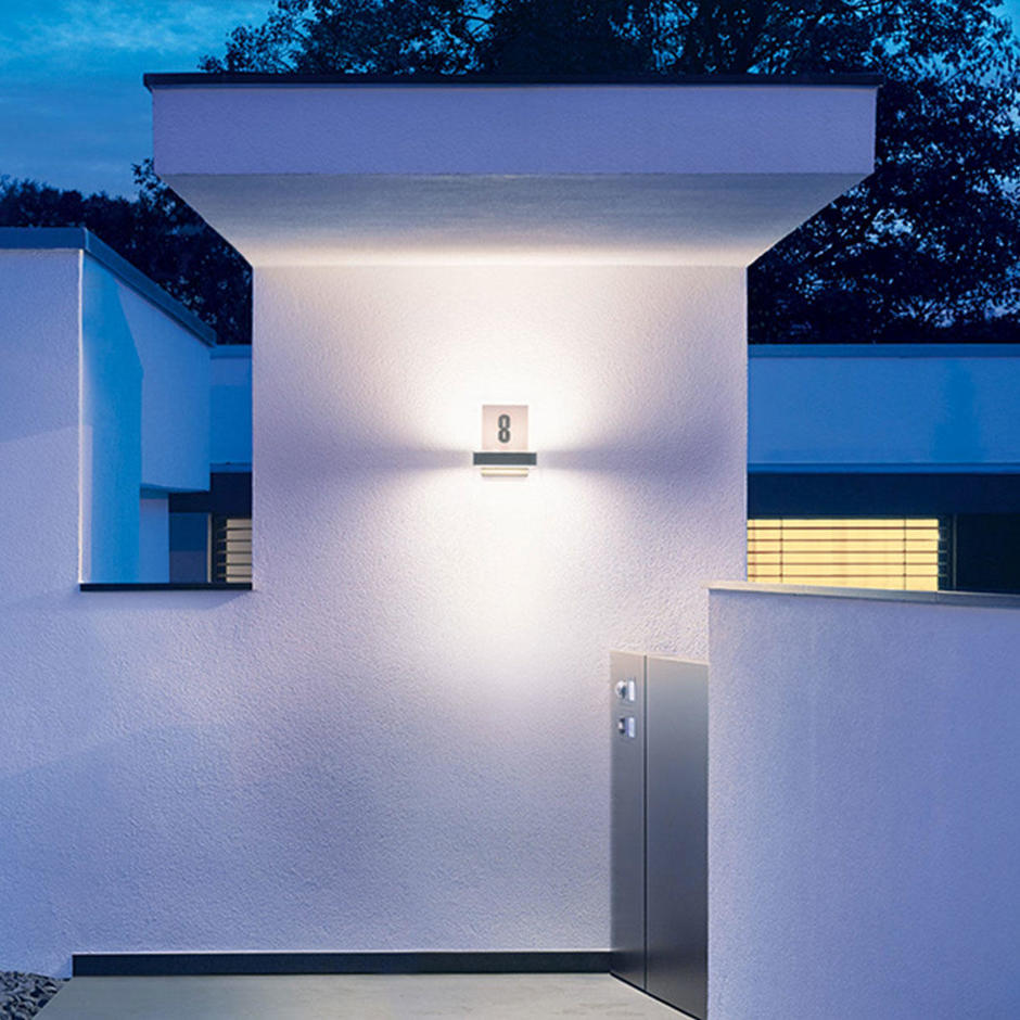 iHF Outdoor LED Up/Downlight with House Number