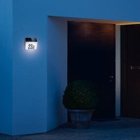 Solar LED Illuminated House Number