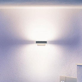 Motion Sensor LED Outdoor Up/Downlights