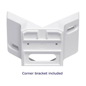Double Motion Sensors including corner bracket