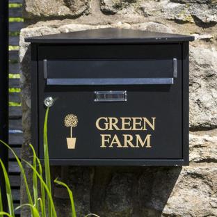 Personalised Belfast Letterbox