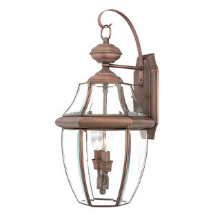 Newbury Copper Wall Lanterns