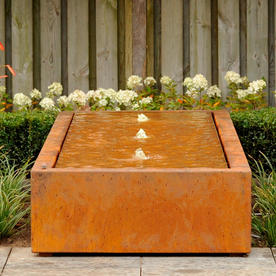 Water Rill Features with Fountain