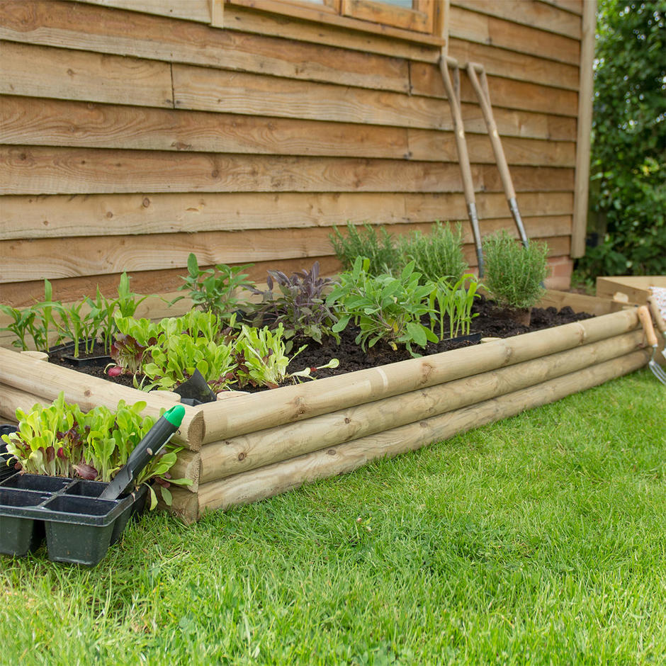 Buy Flower Bed Building Pack By Forest Garden