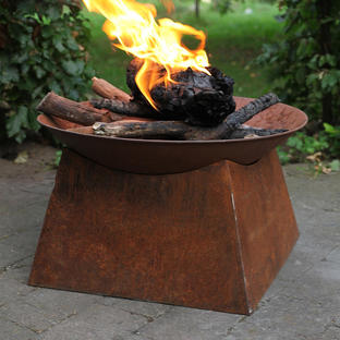 Firebowl on Stand