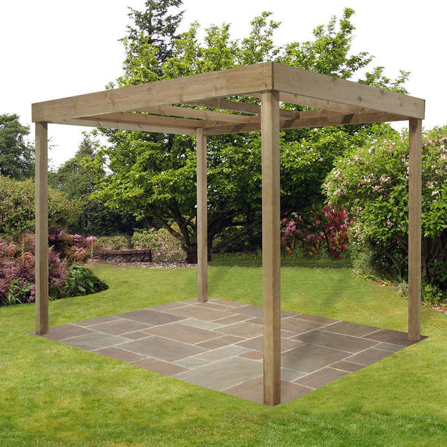 Buy Contemporary Pergola By Forest Garden The Worm That