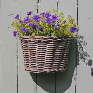 Wall Basket Grey