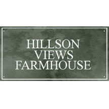 Smooth Green Slate Three Line House Sign with Border - Size 6