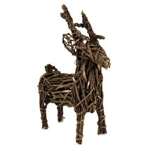 Wicker Reindeer - Extra Small