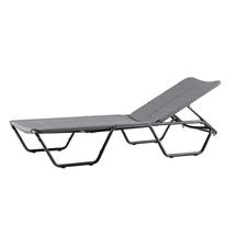 Cape Sunbed with All Weather Cushions - Grey