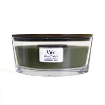 Bergamot and Basil Hearthwick 16oz Candle