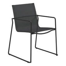 Asta Meteor Stacking Armchair - Anthracite Sling
