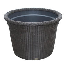 Botanic Large Flower Pot - Mocca