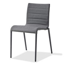 Core chair, stackable - Lava grey/Grey